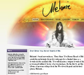Melanie Safka ~ The Official Website